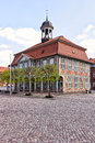 Boizenburg town hall at mecklenburg western pomerania Stock Image