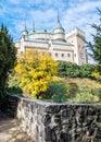 Bojnice castle in Slovak republic, autumn scene