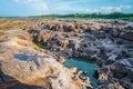 Bok sam pan bok ubon ratchathani grand canyon of thailand Stock Photo