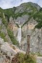 Boka waterfall Royalty Free Stock Photo