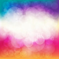 Bokeh Abstract Background. Vector Illustration.