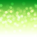 Bokeh abstract backgrounds green light Royalty Free Stock Images