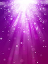 Bokeh abstract backgrounds magenta glow light Royalty Free Stock Photography