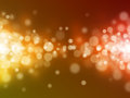 Bokeh abstract backgrounds yellow light Royalty Free Stock Photography