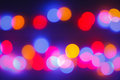 Bokeh abtract light blur background Stock Images