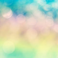 Bokeh background a colorful abstract Stock Photo