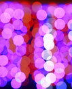 Bokeh background made out of balls Stock Images
