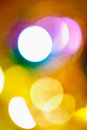 Bokeh background red yellow abstract light Royalty Free Stock Images