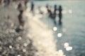 Bokeh Background, Sea, Beach, ...