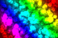 Bokeh beautiful color variety bright to look at Royalty Free Stock Photo
