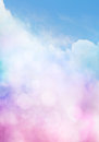 Bokeh Cloud Gradient Stock Photography