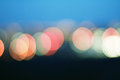 Bokeh colored lights background Royalty Free Stock Photo