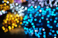 Bokeh colorful abstract lights background Royalty Free Stock Photography