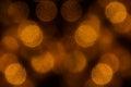 Bokeh Dark Orange Mesh Circles...
