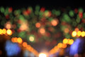 Bokeh Fireworks Royalty Free Stock Photo