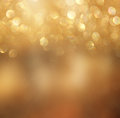 Bokeh lights background with mixed brown and yellow warm earthly colors Royalty Free Stock Photos