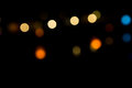 Bokeh lights on night Royalty Free Stock Photo