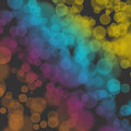 Bokeh rainbow wallpaper orange pink blue yellow Royalty Free Stock Photography