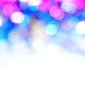 Bokeh vivid color background pink blue Royalty Free Stock Photos