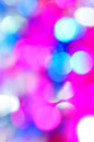 Bokeh vivid color background pink blue Stock Images