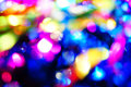 Bokeh vivid color background pink blue yellow Royalty Free Stock Photos