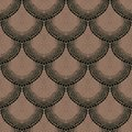 Bold dotted ornament in art deco style organic brown colors texture for web print wallpaper decals fall winter fashion fabric Stock Photo