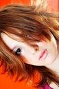 Bold hair.  Royalty Free Stock Photo