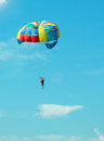 Bold paratrooper Royalty Free Stock Photo