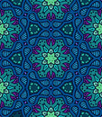 Bold pattern with Indian motifs Royalty Free Stock Photo
