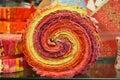 Bold Quilt Swirls Stock Image