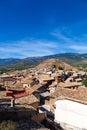 Bolea village in la hoya huesca aragon spain Stock Image
