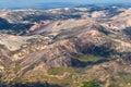 Bolivian Andes near La Paz, Bolivia Stock Image