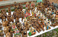 Bolivian figurines Stock Images