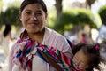 Bolivian mom Royalty Free Stock Photo