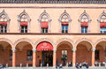 Bologna a city in Red color Royalty Free Stock Photo