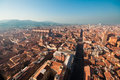 Bologna cityscape, Italy. Stock Photo