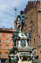 Bologna fountain Royalty Free Stock Photography