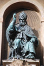 Bologna Pope Gregory XIII Royalty Free Stock Photo