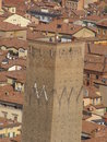 Bologna - Prendiparte tower Royalty Free Stock Photos