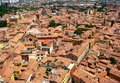 Bologna view roofs of italy Royalty Free Stock Photography