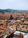 Bologna view roofs of italy Stock Photo