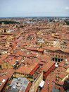 Bologna view roofs of italy Stock Photography