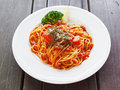 Bolognese pasta Royalty Free Stock Photo