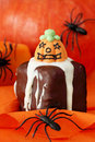 Bolos de Halloween Foto de Stock Royalty Free