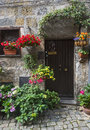 Bolsena italy viterbo lazio old typical house of the medieval town Stock Image