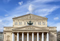 Bolshoi Theatre building in Moscow Royalty Free Stock Photo