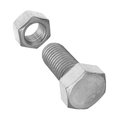 Bolt nut made stainless steel Royalty Free Stock Photo