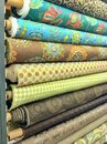 Bolts of fabric Royalty Free Stock Photo
