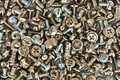 Bolts and screws Royalty Free Stock Photography