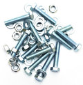 Bolts screws washers Stock Photos